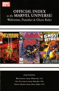 Wolverine, Punisher &amp; Ghost Rider Official Index to the Marvel Universe Vol 1 2