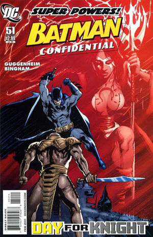 Cover for Batman Confidential #51