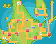 Floaroma Town Map