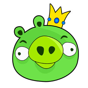 Angrybirds kingpig