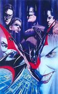 BATMAN BEYOND ROSS WB LITHO