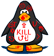 My Penguin:Joshua pengu This_Is_What_A_Zombie_May_Look_Like