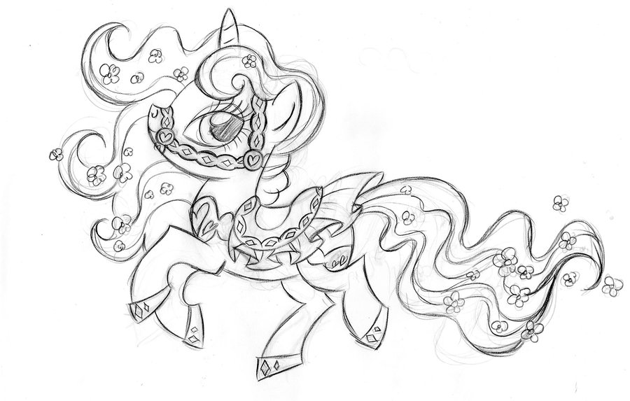 Fighting Pegasus Coloring Pages