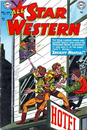Cover for All-Star Western #74