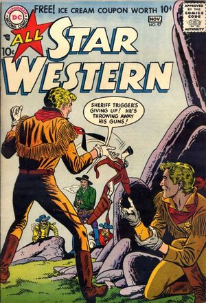 Cover for All-Star Western #97