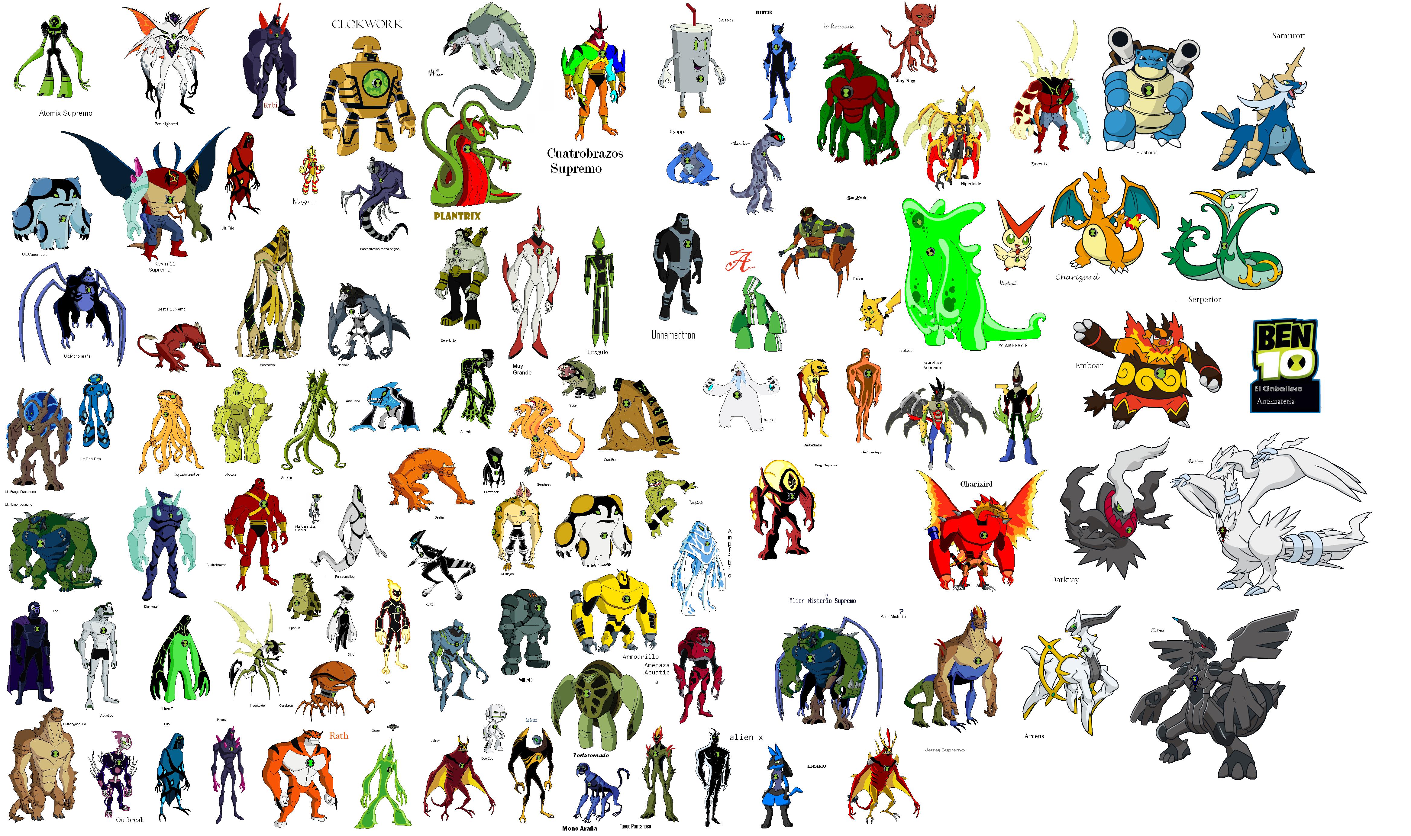 Imagen omega aliens png comunidad ben 10 fanon wiki