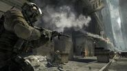 Frost aiming M4A1-2 Black Tuesday MW3
