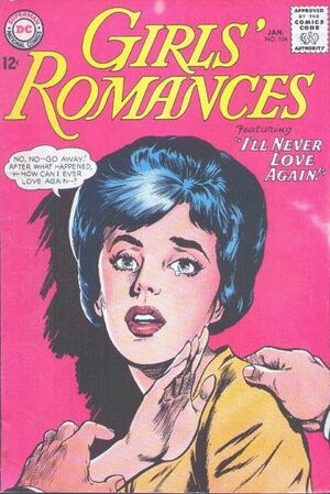 Cover for Girls' Romances #106