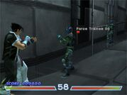 Tekken 4 Force Mode - Military Installation 2