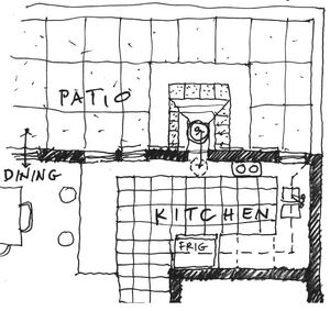 Joel Goodman - Thru wall oven kitchen plan, 10-1-11