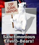 Sanctimonious Enviro-Bears