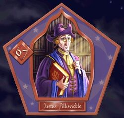 Justus Pilliwickle - Chocogrenouille HP2