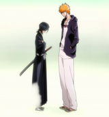 Ep342 Ichigo&amp;Rukia