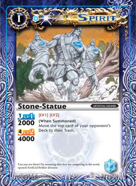 Booster Set 3 Stone-statue2