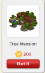 Tree Mansion Rewardville unlocked