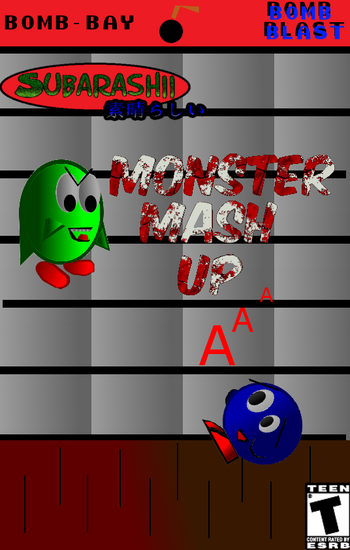 Monster mash up pal case