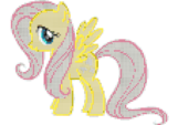 Fluttershy awesome stitching pattern
