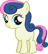 Bon Bon Filly by binaryNinj4