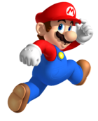 Mario jumping