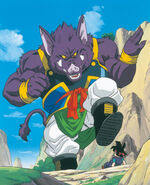 Dragon Ball GT panoramica contra lord yao
