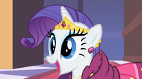 Rarity sees Prince Blueblood S01E26