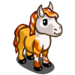 Mini Candy Corn Horse-icon