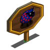 Polka Dots Sheep Mastery Sign-icon