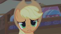 Applejack scared 2 S01E09