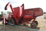 Massey-Harris 780 combine - OUN 386 at barleylands 2011 - IMG 6189