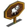 Tuscan Cow Mastery Sign-icon