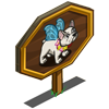 Fairy Dog Mastery Sign-icon