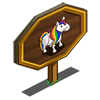 Rainbow Pony Mastery Sign-icon