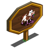 Vineyard Cow Mastery Sign-icon