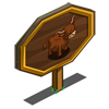 Highland Cow Mastery Sign-icon