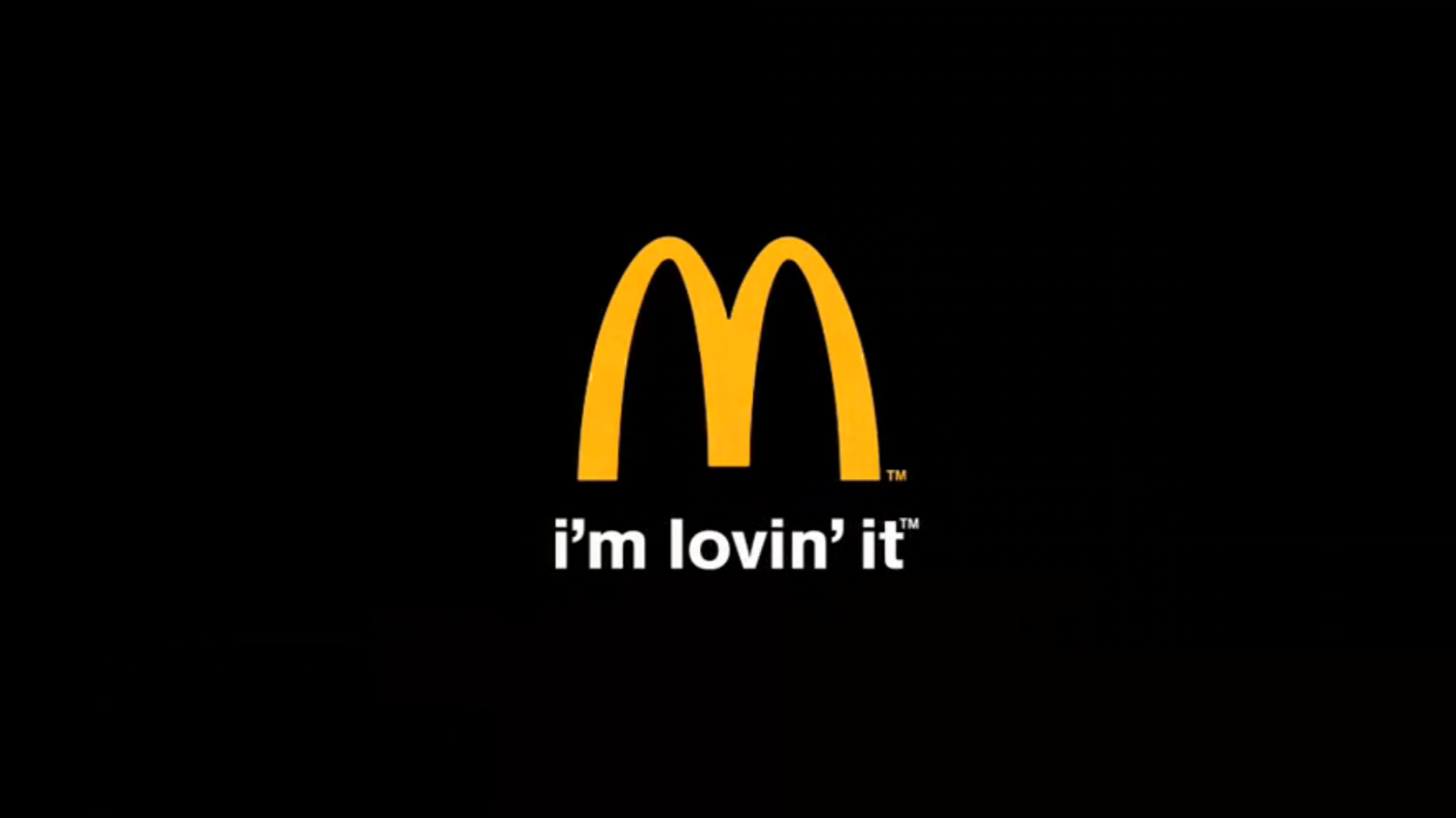 I'm lovin' it - Slogan desde 2003