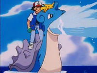 Ash Lapras Water Gun
