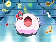 EP412 Jigglypuff usando Canto dormido