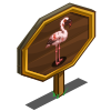 Lesser Flamingo Mastery Sign-icon