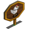 Araucana Chicken Mastery Sign-icon