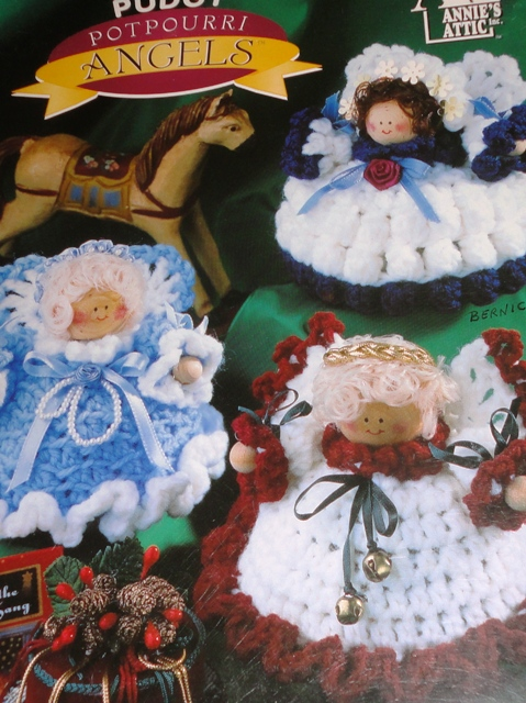 Annies Crochet Patterns : ... Crochet Pudgy Potpourri Angels - Knitting and Crochet Pattern Archive