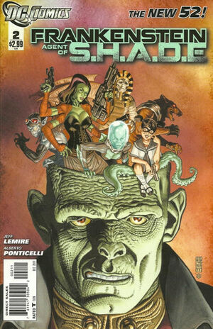 Cover for Frankenstein, Agent of S.H.A.D.E. #2