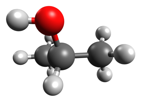 Image - Isopropyl alcohol.png - Molecules Wiki