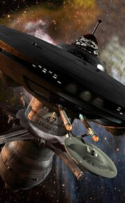 Doug Drexler&#39;s CGI starbase 47 close-up