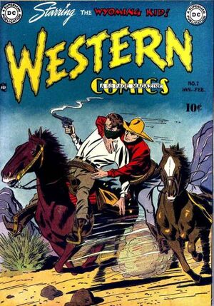 Cover for Western Comics #7