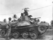 Type 95 Ha-Go Captured