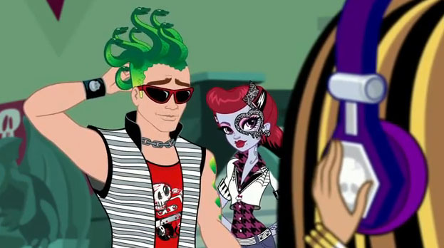 Operetta superhero high wiki fandom powered by wikia - Monster high deuce ...