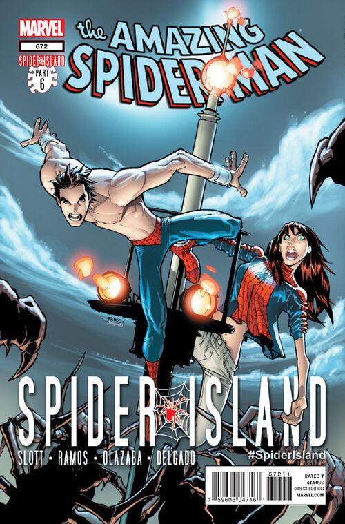Amazing spider man vol 1 672 marvel comics database