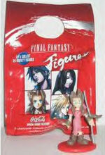 Coke figurine package