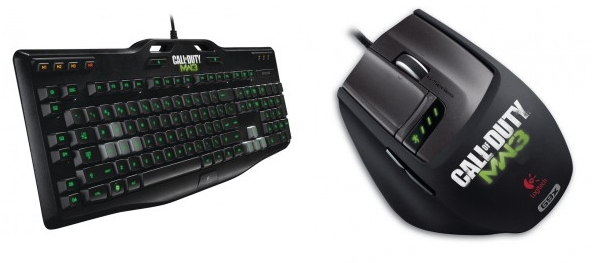 Logitech gaming keyboard mw3