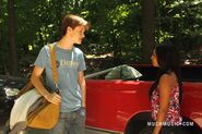 Jake &amp; Alli Talking By His Truck